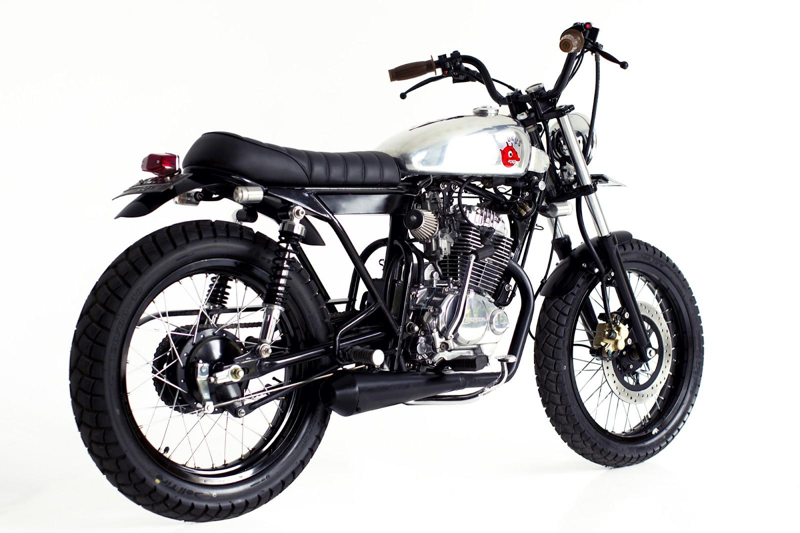 Modifikasi Honda Tiger 2012 Jap Style MOTOGOKIL
