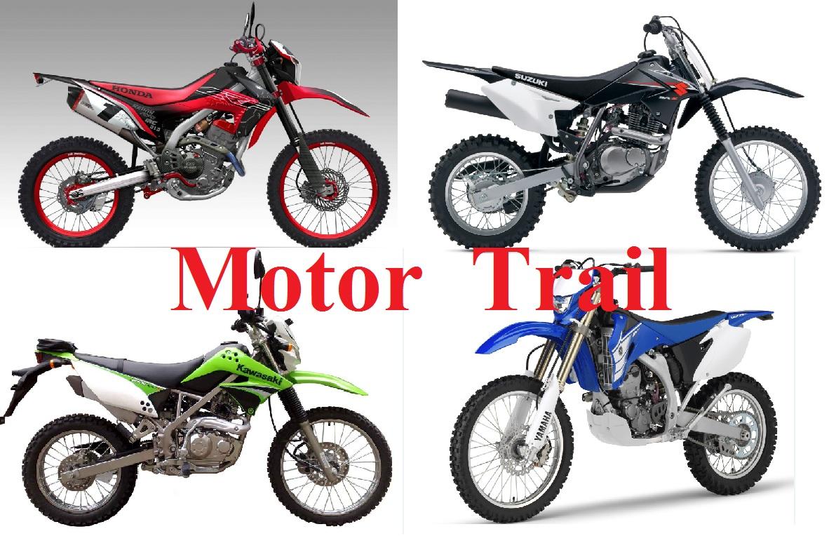 Modifikasi Membangun Motor Trail Dari Motor Harian Motogokil