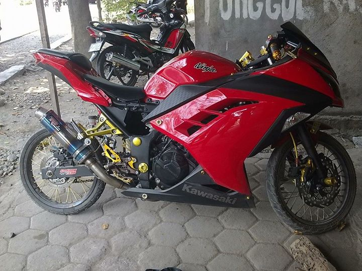 Modifikasi Motor Ninja 4 Tak Drag